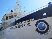 El buque del IEO 'Ángeles Alvariño' podrá visitarse los días 18 y 19 de junio en el Puerto de Santander