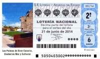 Las Palmas de Gran Canaria acoge este sábado el 'Sorteo Viajero' de Loterías y Apuestas del Estado