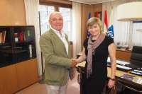 La FER y Dorota Maslanka renuevan el acuerdo de colaboración, para potenciar la gestión de patentes y marcas en pymes