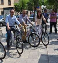Comienza a funcionar en Albacete el nuevo sistema de préstamos de bicicletas