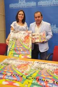 Valenzuela celebra los 50 años de existencia de sus alfombras de serrín multicolor