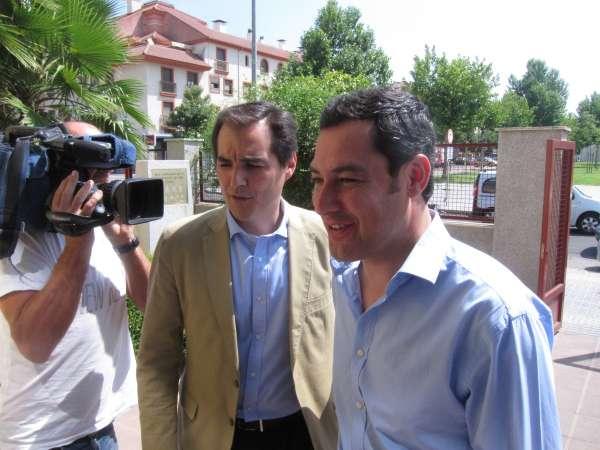 Moreno defiende la postura de los alcaldes del PP de decirle a la Junta que