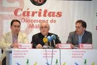 Cáritas recibe en 2013 un 16,5% más de aportaciones y atiende a más de 25.000 unidades familiares