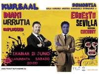 El monologuista Ernesto Sevilla despide el próximo sábado en el Kursaal de San Sebastián su gira 'Coconut'