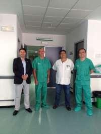 El Hospital de Talarrubias realiza las primeras intervenciones quirúrgicas en el área de Otorrinolaringología