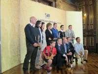 José Luis Bilbao entrega los premios Bizkaia Kirola Sariak 2014
