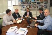 Ayuntamiento y MAGRAMA pactan actuaciones para la recuperación del Puntal