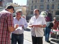 El paro, principal preocupación de los castellanoleoneses recogida por IU en la campaña 'A Herrera le diría'