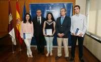 Marín felicita a los 3 mejores alumnos de la PAEG,