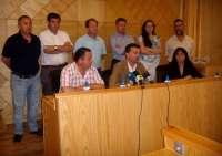 Maíllo se reúne en La Roda con la plataforma 'Por un médico 24 horas ya' de la Sierra Sur