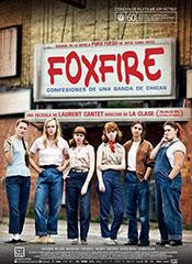 Foxfire (Confesiones de una banda de chicas) - Cartel