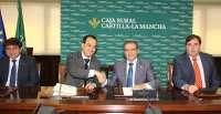 Caja Rural C-LM proporciona 100 millones a los empresarios farmacéuticos de la región