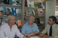 Andrés Lorite felicita al decano del Colegio de Arquitectos por su reciente reelección