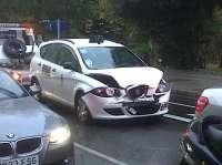 21 imputados en Cantabria por simular accidentes de tráfico o incrementar los daños