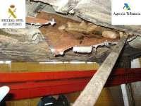 Detenidos tres hombres en Melilla cuando pretendían embarcar hacia Andalucía con 49 kilogramos de hachís