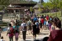 Sendaviva abre sus puertas 65 días seguidos, con nuevos animales y un renovado espectáculo nocturno