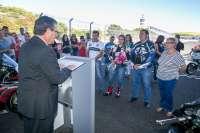 El circuito de Jerez celebra su primera boda civil