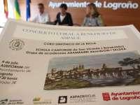 El Coro Sinfónico de La Rioja estrena dos piezas riojanas inéditas en una gala benéfica a favor de Aspace Rioja