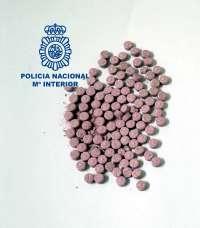Detenidas dos personas en Tenerife con 106 pastillas de éxtasis para su venta