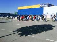 Seguimiento unánime de la primera jornada de huelga en el centro que Quilosa tiene en Quer (Guadalajara), según CCOO