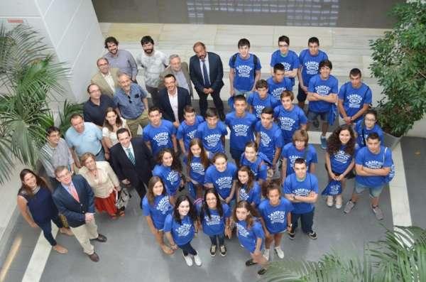 Alumnos de Secundaria perfilan su vocación científica en la UCLM durante el verano