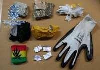 Detenido un joven cuando lanzaba un paquete con drogas desde la calle al interior de la cárcel de Melilla