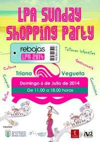 Las Palmas de Gran Canaria acoge este domingo la LPA Sunday Shopping Party
