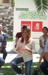 Díaz dice que Rajoy se dedica