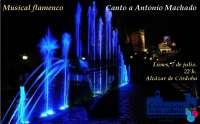 El Alcázar rinde homenaje a Antonio Machado este lunes a través del flamenco y la poesía