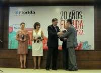 FSC Inserta, EVAP, Consum y Vossloh, premiados por su cooperación con la universidad en el 20 aniversario de Florida