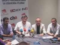 IU-ICV acusa al Gobierno de