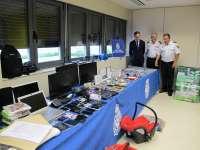 La Policía expone los más de 300 objetos recuperados en la 'Operación Vistosa'