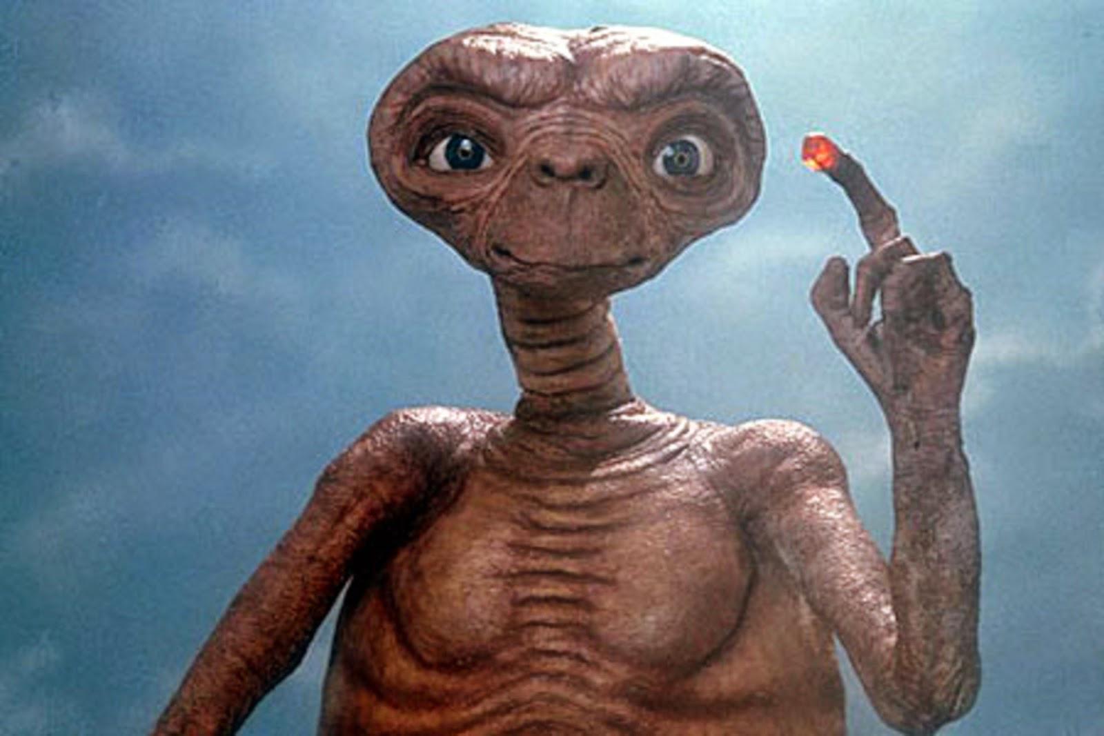 E.T. El extraterrestre.