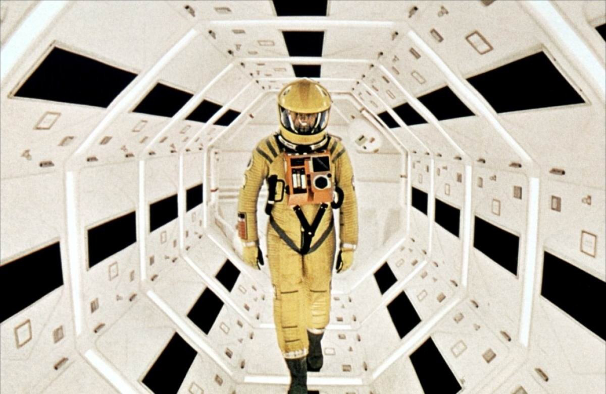 2001: Una odisea en el espacio.