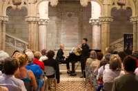 El Encuentro de Música y Academia ofrece mañana un concierto en Santander de Mehner y Panisello y otro en Comillas