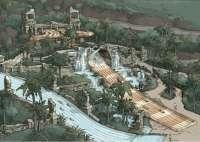 Aqualand Maspalomas (Gran Canaria) prepara una nueva atracción, el Templo del Agua, para 2015