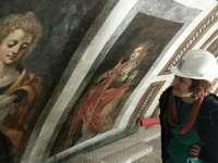 Más de 3.000 personas visitan las obras de restauración del Santo Cristo de la Salud en Málaga