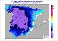 Mallorca será el único lugar donde se producirá este viernes un aumento de las temperaturas, entre 1 y 2 grados