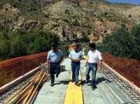 El 'Puente de la Risa' de Huesa volverá a ser transitable en la próxima campaña de la aceituna