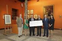 Ibercaja entrega la recaudación obtenida en la campaña, a favor de los Bancos de Alimentos