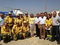 El dispositivo del Plan Infoca realiza 426 intervenciones en incendios forestales desde el inicio de la campaña