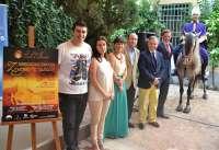 La Diputación colabora en el espectáculo ecuestre 'Zayda a caballo' del 26 de julio en el Castillo de Almodóvar
