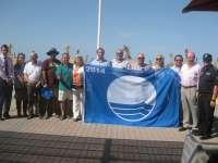 Las playas de Palma izan las 4 banderas azules obtenidas por la calidad del agua, limpieza y educación medioambiental