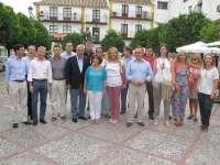 Arenas y Bueno visitan Utrera y destacan el papel