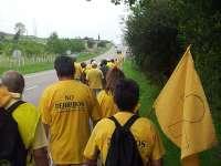 Más de 100 afectados por las sentencias de derribo participan en la X Marcha a Santander de AMA