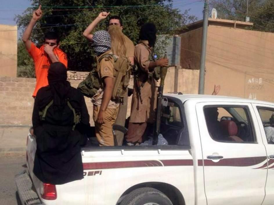 Insurgentes suníes en el norte de Irak