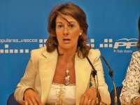 PP vasco pide a Egibar que deje de poner a los presos en la agenda política ya que son un problema