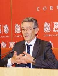 El PSPV pide la comparecencia de Fabra en las Corts para informar de las consecuencias del veto ruso