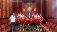 El Baku United Futsal Club de Londres es recibido en el Ayuntamiento de Toledo por segundo verano consecutivo