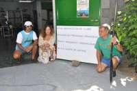 Reubicados en la nave de 'La Cuadra' los materiales del club de piragüismo Kayak-Polo Hispalense